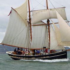Welsh schooner Vilma at OGA Holyhead Festival, 2014