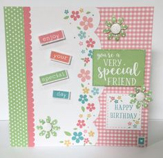 Created by Sue Morgan using Julie Loves sweet and petite collection.