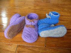 These slippers are sized for to two to four year olds. When I first envisioned the slipper, it didn't look quite like this, but I'm happy wi...