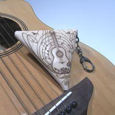 三角コインケース(Guitarrista)