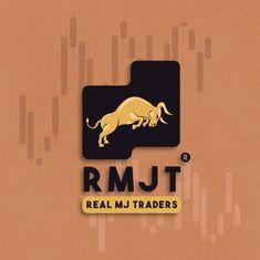 Real MJ Traders logo design by Lebzamj