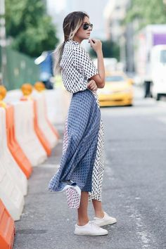 The perfect summer dress for heat: all silk, like We Wore What