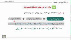 محاسبة تكاليف وإدارية (2) - الوحدة 2 : مثال على نظام التكاليف المستهدفة - 2 http://ift.tt/2urIgRO إدارة اعمال دورة محاسبة شرح المحاسبة منهج إدارة أعمال كورس محاسبة منهج تجارة