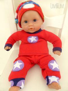 Puppenkleidung - Freebook                                                                                                                                                                                 Mehr