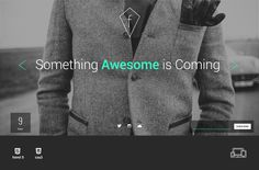Fashion Coming Soon Template - Websites - 1