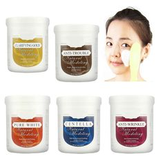 1000ml Natural Modeling Mask Powder - Peel Off  Pack Skin Care Massage Masque