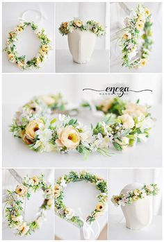 spring wreath, photo props