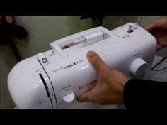 Como consertar desmontar e lubrificar a maquina singer facilita 2868 - YouTube