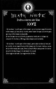Reglas de uso de Death note Capítulo 0 página 28 - Leer Manga en Español gratis en NineManga.com
