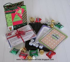 "Serenity You: Stocking Fillers (pictured is ""game night in a bag"" - great idea!)"
