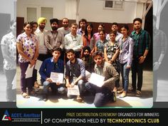 ‪#‎Winners‬ of the ‪#‎logo‬ ‪#‎making‬ and ‪#‎aptitude‬ ‪#‎test‬ were felicitated by the ‪#‎Principal‬ Dr. V.K Banga and Dr. Tanupreet singh (‪#‎HOD‬ ‪#‎ECE‬).