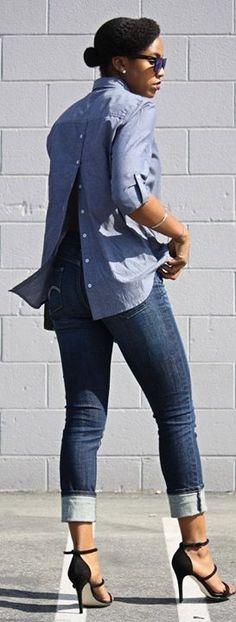 Copie o Look!! mais detalhes aqui  http://bit.ly/1QCsuwL   veja também: Dicas de Moda para o Trabalho http://bit.ly/1SugopK