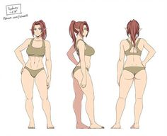 Anatomy Drawing Reference Sydney by ichan-desu - Female Character Design, Character Modeling, Character Design Inspiration, Character Concept, Character Art, Character Model Sheet, Concept Art, Drawing Reference Poses, Drawing Poses