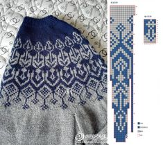 Fair Isle Knitting Patterns, Knitting Charts, Sweater Knitting Patterns, Knitting Stitches, Knitting Designs, Knit Patterns, Sweater Design, Knit Fashion, Pulls