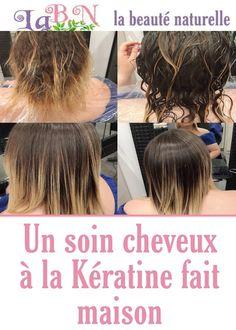 Un soin cheveux à la Kératine fait maison Curly Hair Styles, Hair Beauty, Makeup, Beautiful, White Hair, Great Hair, Natural Hair, Maquillaje, Make Up