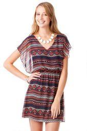 Canton Printed Dress