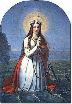 Pintura de Santa Filomena