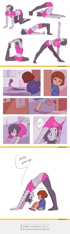 nice Mettaton and Frisk, Undertale... - a grouped images picture