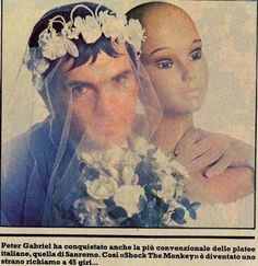 Peter Gabriel, ca 1982