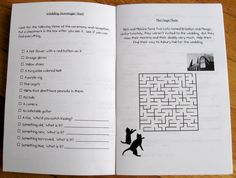 DIY activity book for the children at your wedding | Offbeat Bride