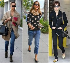 Style inspiration from Jessica Alba