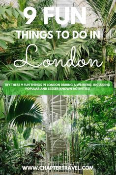 In a three day weekend in London, you can do a lot of fun stuff! During our time in London we done a lot of fun activities, ate so much delicious food in cool London restaurants and had way too many tasty drinks. In this article we'll share 9 fun things you can do during a short visit in London! #London #WeekendinLondon