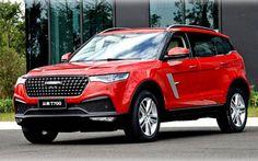 Zotye представила семиместную копию Range Rover