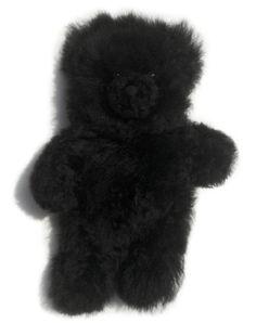 Dark Chocolate Brown Handcrafted from 100/% Baby Alpaca Fur Inca Fashions Lifelike Baby Bunny Rabbit