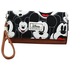 Disney Discovery- Mickey Mouse Visage Wallet