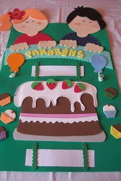 Vamos deixar as salas de aula lindas? Foam Crafts, Crafts To Make, Crafts For Kids, Classroom Organization, Classroom Decor, Birthday Charts, Teaching Aids, Art N Craft, Classroom Posters