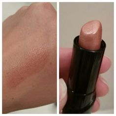 Wet n Wild Lipstick in Breeze. A nude, shimmery lipstick. Really pretty on! And super inexpensive! Wet N Wild Lipstick, Nude Lipstick, Nude Makeup, Beauty Makeup, Hair Makeup, Wet And Wild, Dupes, Makeup Products, Breeze