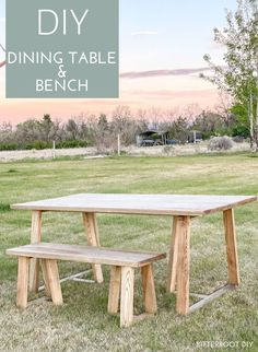 The classic truss dining table with a modern twist! Grab plans to build your own DIY dining table and matching bench. #diningroom #diyhome #diyprojects #woodworking #diningroominspo Diy Projects Using Wood, Diy Furniture Projects, Diy Furniture Plans, Woodworking Projects Diy, Cool Diy Projects, Woodworking Plans, Project Ideas, Wood Home Decor, Diy Home Decor