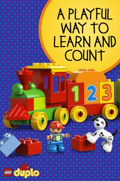 A holiday gift to set your preschooler on the right track, the LEGO DUPLO Number Train is a playful way to learn to count: 10, 9, 8 7, 6, 5, 4, 3, 2, 1. Choo-Choo! www.escherpe.com