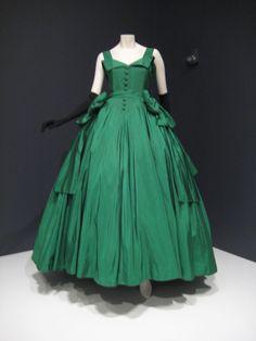Emerald Green, 1954 Christian Dior.