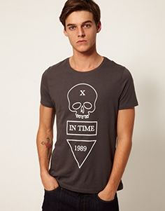 ASOS T-Shirt With Skull Print