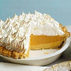 This layered pumpkin pie recipe is double the deliciousness thanks to two distinct, creamy layers./