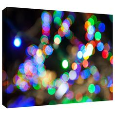 'Bokeh 2' by Cody York Graphic Art on Wrapped Canvas