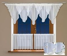 Koło takiego produktu wprost nie można przejść obojętnie!  Prezentowana powyżej firanka z woalu to domowa ozdoba okienna, która swoim ciekawym wyglądem z pewnością przyciągnie wiele spojrzeń gości. Oczywiście będą to spojrzenia pełne aprobaty.  Wysokość x Długość: Firanka 70x400, #zazdrostki 2 x wys. 50 x150 cm  kasandra.com.pl
