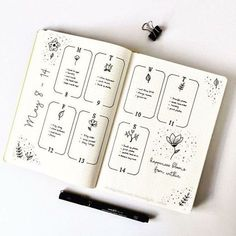 Bullet Journal Weekly Spread #bujoinspiration #bulletjournalweekly