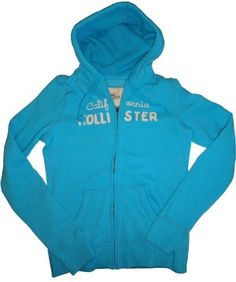 Women's / Girl's Hollister Hooded Sweat Jacket Hoodie Boomer Beach Turquoise (Small) Hollister, http://www.amazon.com/dp/B007NK4IYO/ref=cm_sw_r_pi_dp_r-46pb0DEC66X