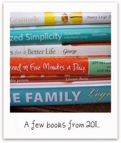 Artful Homemaking: Book List for 2012