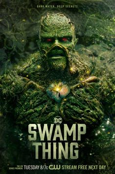 Swamp Thing Movie, Swamp Thing Dc Comics, Justice League Dark, Fc Liverpool, Team Arrow, Classic Horror Movies, Supergirl And Flash, Dc Comic Books, Dc Characters