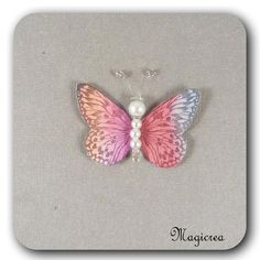 STICKER PAPILLON SOIE 5 CM MULTICOLORE - Boutique www.magicreation.fr