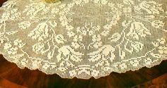 Professione Donna: Lo stile Vintage: Centro ovale a filet