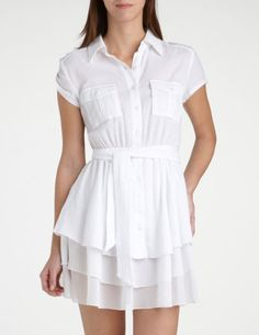 I'd wear this... as a shirt. why don't they make dresses longer? :(