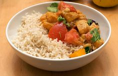 Low-fat Curry for Autumn Butternut Squash Curry, Curry Paste, Fried Rice, Ethnic Recipes, Food, Ancestry, Religion, Essen, Meals