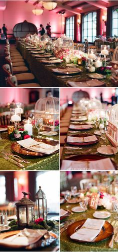 Midsummer Night's Dream Wedding Inspiration