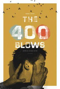 The 400 Blows alternative movie poster