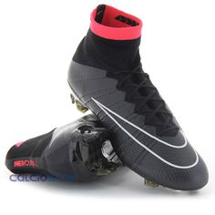 NIKE - MERCURIAL SUPERFLY FG BLACK. Nike Soccer CleatsFootball  CleatsFootball GearFootball ...