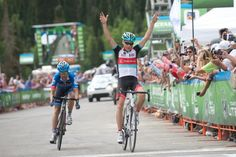 Horner wins stage 5, Tour of Utah, 2013